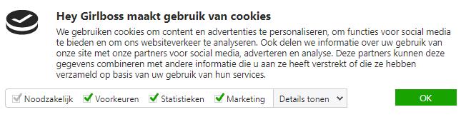 Cookiemelding